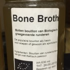 Biologische runderbouillon /bonebroth pot 630ml